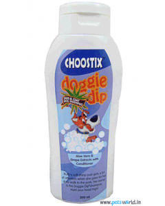 Choostix Doggie Dip Skin & Coat Dog Shampoo 200 ml