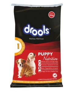 Drools Puppy Chicken and Egg 10 Kg