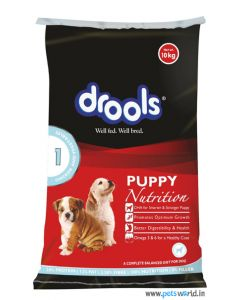 Drools Puppy Chicken And Vegetables 10 Kg