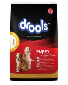 Drools Puppy Chicken and Egg 3 Kg
