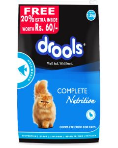 Drools Ocean Fish Cat Food 1.2 Kg