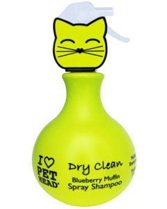 Pet Head Dry Clean Blueberry Muffin Spray Cat Shampoo 450ml