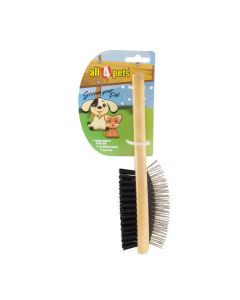 All4Pets Double Side Brush Medium