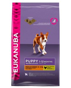 Eukanuba Puppy Chicken Medium Breed Dog Food 3 Kg