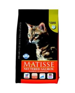 Farmina Matisse Neutered Salmon Dry Cat Food 400 Gm