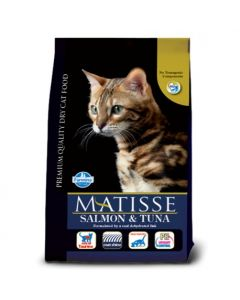 Farmina Matisse Salmon & Tuna Dry Cat Food 400 Gm