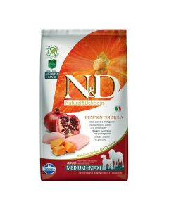 Farmina N&D Low Grain Chicken & Pomegranate Light Medium & Maxi Adult Dog Food 12 Kg