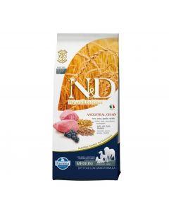 Farmina N&D Low Grain Lamb & Blueberry Medium Breed Adult Dog Food 2.5 Kg