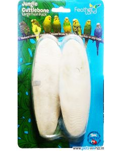 Feather Land Jungle Cuttlebone Calcium Block For Birds
