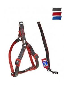 FEKRIX Janes Leash Plus Harness Small
