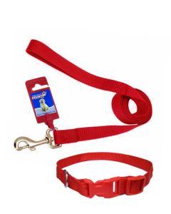 FEKRIX Plain Color Leash Large