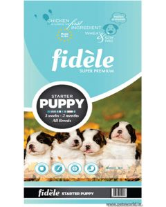 Fidele Puppy Starter Dog Food 1 Kg