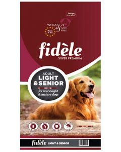 Fidele Light & Senior Adult Dog Food 15 Kg
