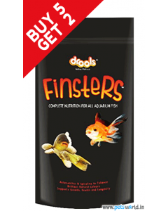 Drools Finsters Complete Nutrition For All Aquarium Fish 100 gms BUY 5 GET 2