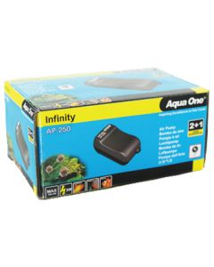 Aqua One Aquarium Air Pump AP-250