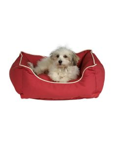 Dog Gone Smart Lounger Bed Red LxW : 32x28 inch