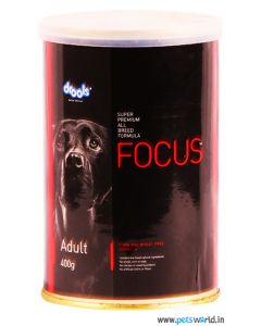 Drools Focus Adult Can Food 400 gm