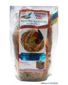 Feathers Pets Care Nesting Material For Finches & Java Birds
