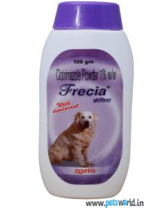 Zoetis Frecia Antifungal Powder for Dogs 100 gm