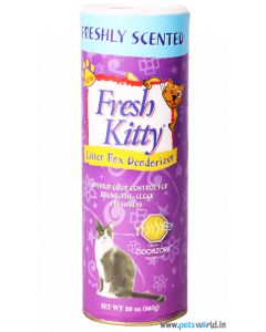 Fresh Kitty Litter Box Deodorizer 567 gms