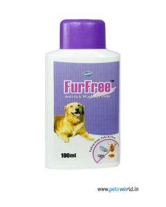 Venkys FurFree Anti-tick Shampoo for Dogs 100 ml