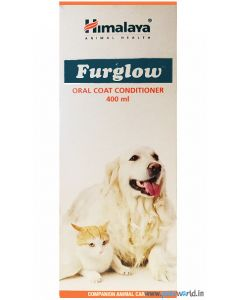Himalaya Furglow Oral Coat Conditioner 400 ml