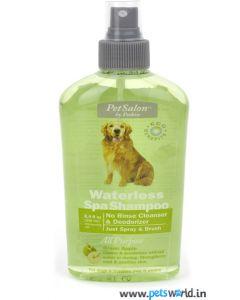 Petkin Waterless Spa Shampoo Green Apple 250 ml