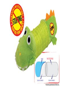 Petstages Just For Fun Big Squeak Gator for Dogs