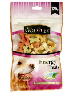 Goodies Dog Treats Cut Bone Assorted Colors 125 gms