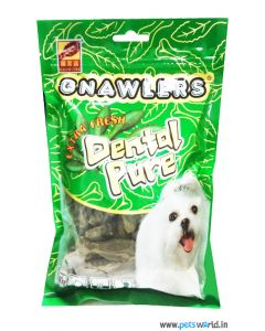 Gnawlers Extra Fresh Dental Pure Dog Treats 90g