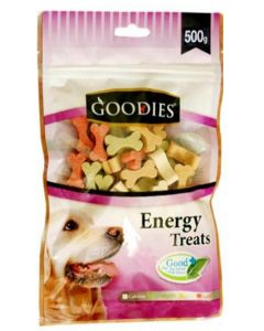 Goodies Dog Treats Cut Bone Assorted Colors 500 gms