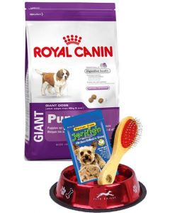 Royal Canin Giant Puppy 15 Kg New Year Combo