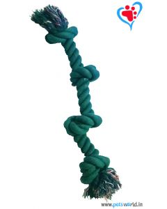 Petsworld 4 Knot Rope Dog Toy (Large)
