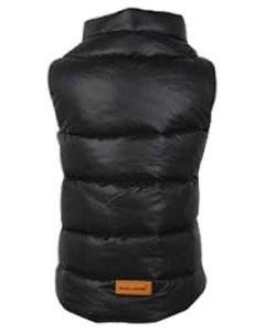 Petsworld Half Sleeve Winter Puff Jacket For Dogs Size 12 Black
