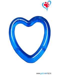 Petsworld Transparent Heart Chew Dog Toy