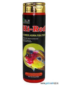 Hi-Red Flower Horn Fish Food 240 gms