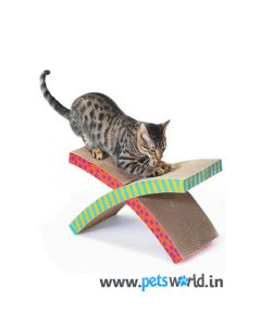 Petstages Easy Life Hammock and Scratcher Cat Toy
