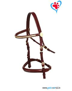 Petsworld Leather Horse Bridle MaxxHB011 (Brown)