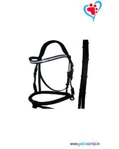 Petsworld Leather Horse Bridle MaxxHB019 (Black)