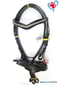 Petsworld Leather Horse Bridle MaxxHB017 (Black)