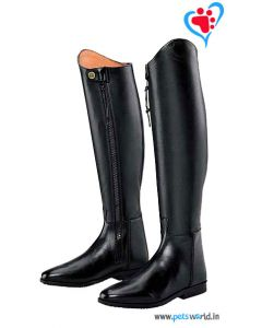 Petsworld Leather Horse Riding Boot MaxxRB002 (Black)