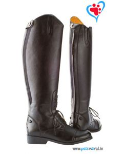 Petsworld Leather Horse Riding Boot MaxxRB004 (Brown)