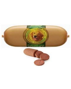 Jerhigh Dog Snacks Hot Dog Chicken And Vegetables 150 gm