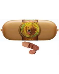 Jerhigh Dog Snacks Hot Dog Liver 150 gms