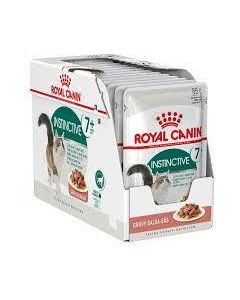 Royal Canin Instinctive +7 Cat Food Gravy Pouch 85g x 12