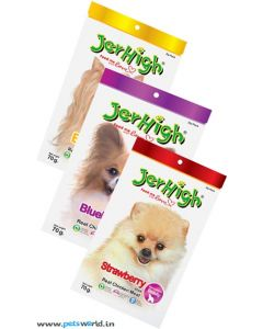 Jerhigh Dog Treats Fruity Sticks Combo