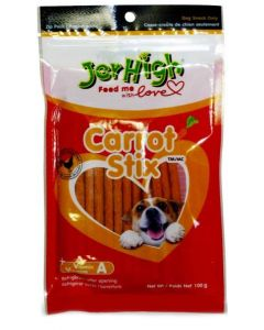 Jerhigh Dog Treats Carrot Stix 100 gms