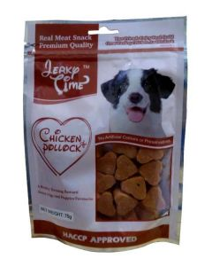 JERKY TIME Chicken Jerky With Pullock 75 Gm