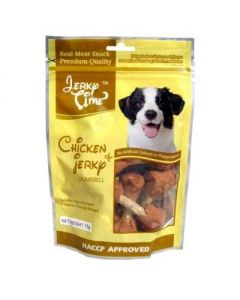 JERKY TIME Dog Chic Jerky Bisc.Twisted 75 Gm