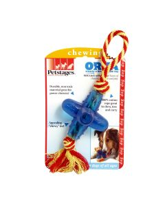 Petstages Orka Jack With Rope Dog Toy Small